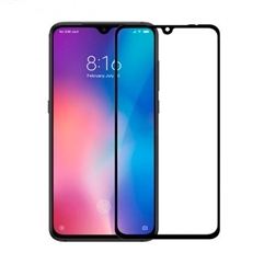 Baseus 0.3mm Curved-screen Tempered Glass Screen Protector for Xiaomi Mi 9  - черный